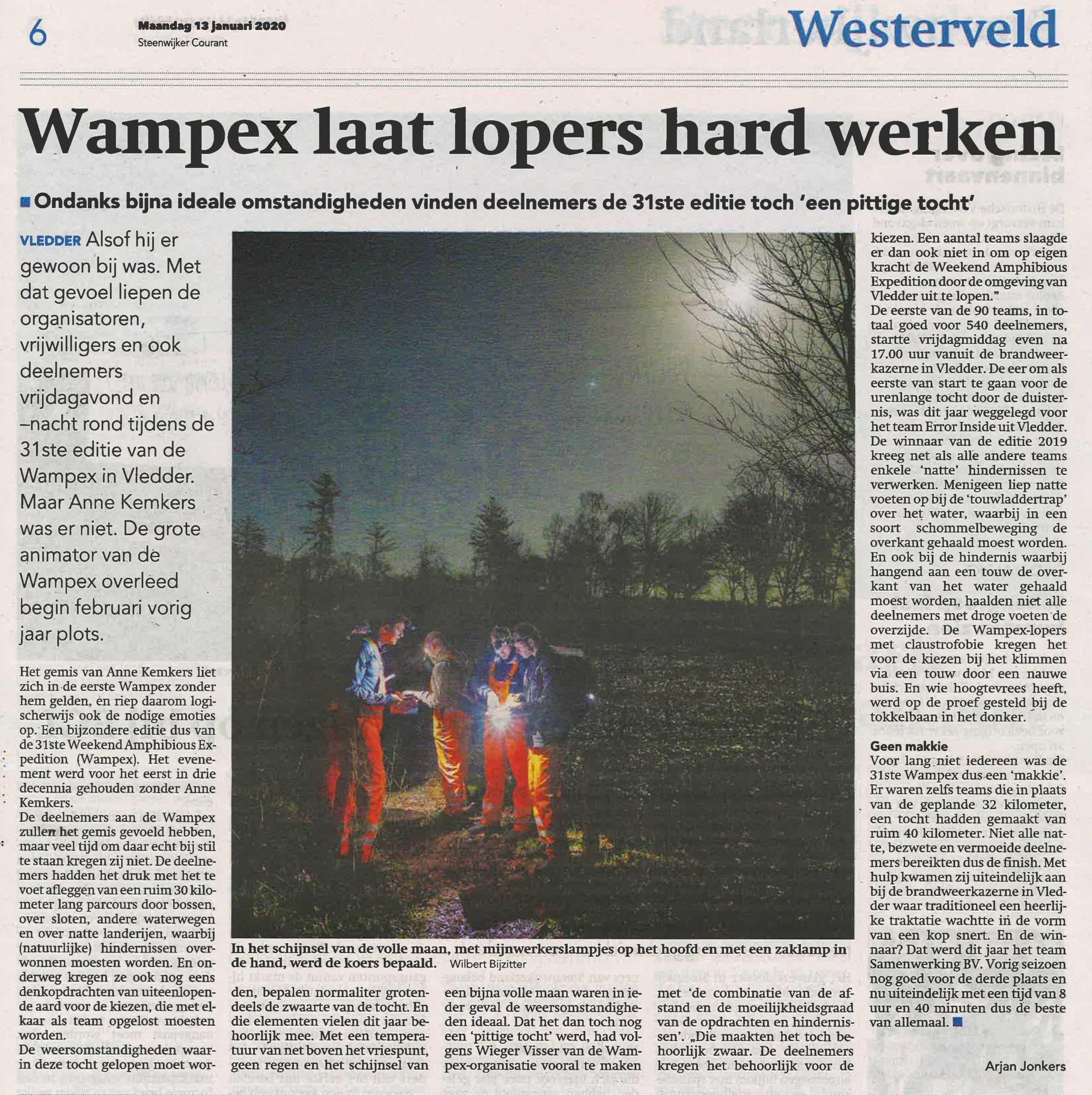 Artikel Steenwijkercourant